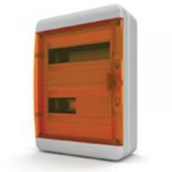 Щиток накладной герметич.(оранж.дверь) IP65 TEKFOR 24 модуля BNO - фото 5551