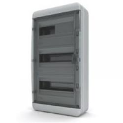 Щиток накладной герметич.(черн.дверь) IP65 TEKFOR 36 модулей BNK - фото 5554