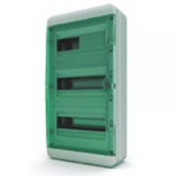Щиток накладной герметич.(зелен.дверь) IP65 TEKFOR 36 модулей BNZ - фото 5555