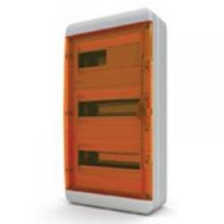 Щиток накладной герметич.(оранж.дверь) IP65 TEKFOR 36 модулей BNO - фото 5556