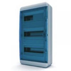 Щиток накладной герметич.(син.дверь) IP65 TEKFOR 36 модулей BNS - фото 5557