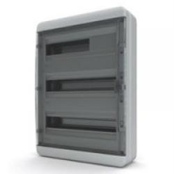 Щиток накладной герметич.(черн.дверь) IP65 TEKFOR 54 модуля BNK - фото 5559