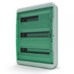 Щиток накладной герметич.(зелен.дверь) IP65 TEKFOR 54 модуля BNZ - фото 5560