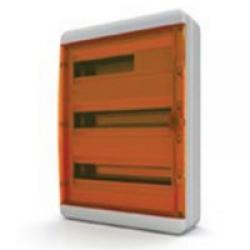 Щиток накладной герметич.(оранж.дверь) IP65 TEKFOR 54 модуля BNO - фото 5561