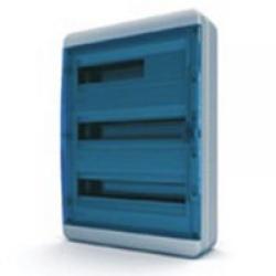 Щиток накладной герметич.(син.дверь) IP65 TEKFOR 54 модуля BNS - фото 5562