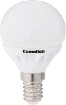 Лампа LED шар 4Вт E14(аналог 40Вт) Camelion LED4-G45/830/E14 - фото 5662