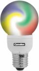 Лампа LED шар(меняющиеся цвета) 1.3Вт E14(аналог 10Вт) Camelion GLOBE-LED21 changing colors - фото 5690