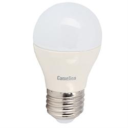 Лампа LED шар 4.5Вт E27(аналог 40Вт) Camelion LED4.5-G45/845/E27 - фото 5697