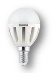 Лампа LED шар 5.5Вт E14(аналог 50Вт) Camelion LED5.5-G45/830/E14 - фото 5698
