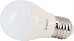 Лампа LED шар 6.5Вт E27(аналог 60Вт) Camelion LED6.5-G45/830/E27 - фото 5703