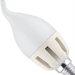 Лампа LED свеча на ветру 5.5Вт E14(аналог 50Вт) Camelion LED5.5-CW35/845/E14 - фото 5716
