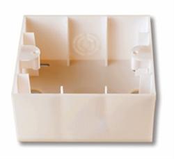 Коробка для наружного монтажа (крем.) Viko Karre - фото 8339