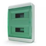 Щиток накладной(зелён.дверь) IP40 TEKFOR 24 модуля BNZ