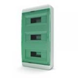 Щиток накладной(зелён.дверь) IP40 TEKFOR 36 модулей BNZ