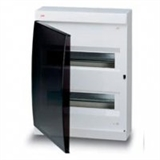 Щиток накладной(черн.дверь) IP41 ABB 24 модуля Unibox