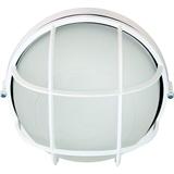 Светильник влагозащищенный круглый с решеткой 60Вт