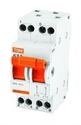 2P 40А Модульный переключатель трехпозиционный МП-63 TDM