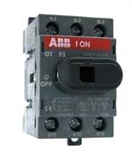 Рубильник ABB OT40F3 без ручки 3п. 40А