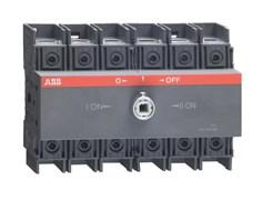 Рубильник ABB OT100F3C без ручки 3п. 100А